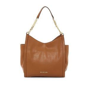 Michael Kors Newbury Acorn Leather Tote Bag